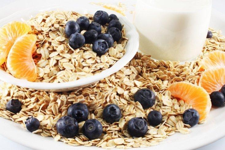 Подробное меню диеты на овсянке и фруктах