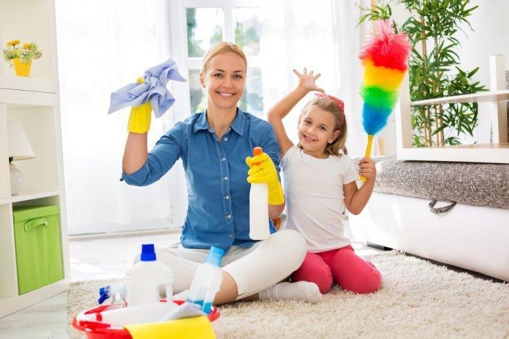 Домашние обязанности как игра