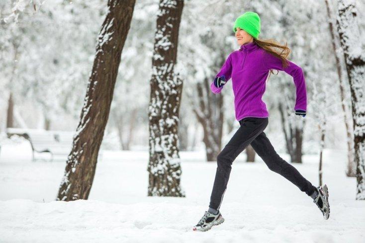 Аэробные фитнес-тренировки: зимний бег