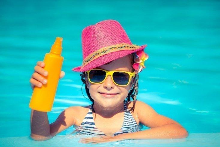 Информация для родителей: когда загар полезен?