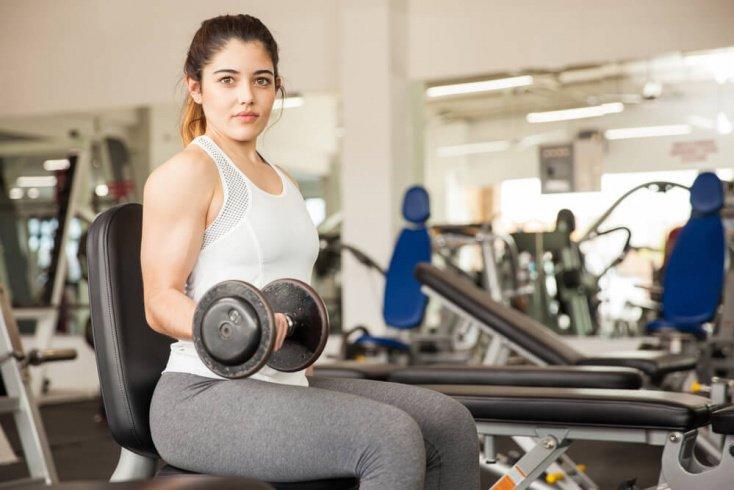 Комплекс упражнений, рекомендуемый для женской программы тренировок
