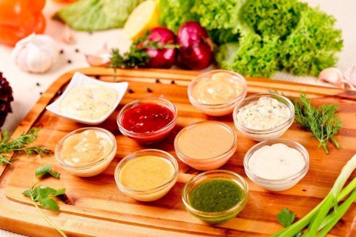 Майонез, заправки и соусы для салатов