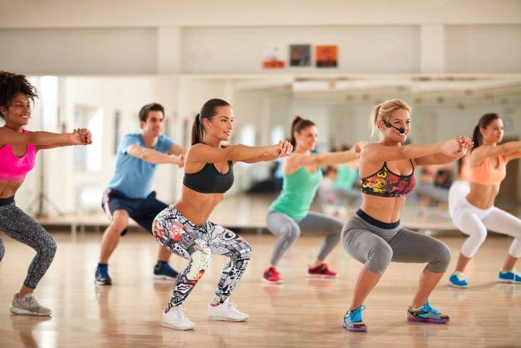 Фитнес для похудения: режим занятий