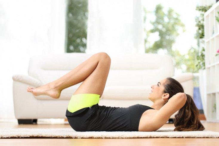 Лучшие фитнес упражнения для верхнего пресса