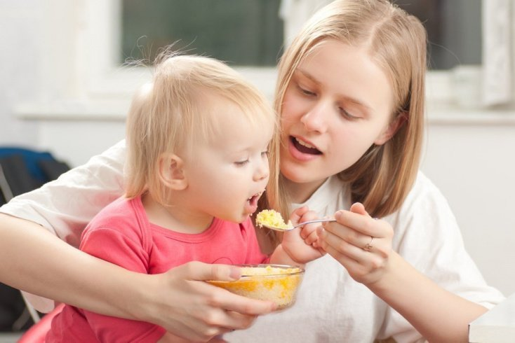 Активное питание ребенка