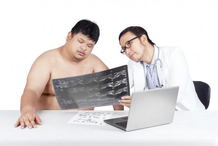Чем опасно ожирение для скелета