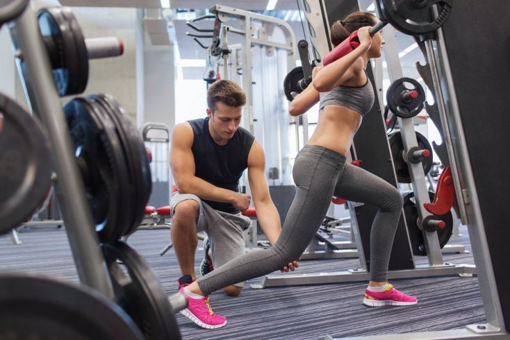 Правила выполнения силовых фитнес-упражнений