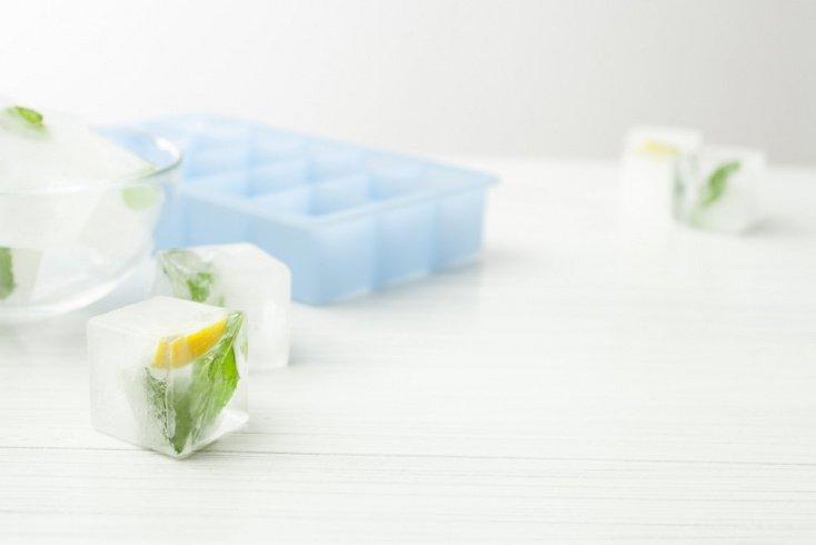 Кубики льда для тонизирования кожи