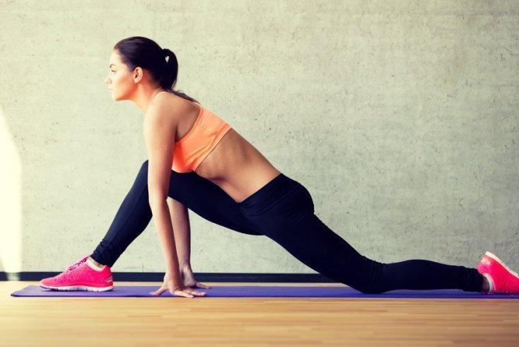 Занятия фитнесом в послеродовой период