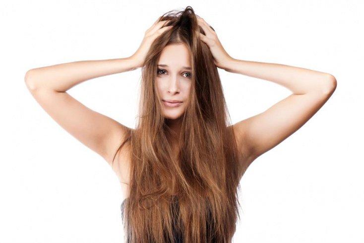 Отсутствие полноценного и грамотного ухода за волосами
