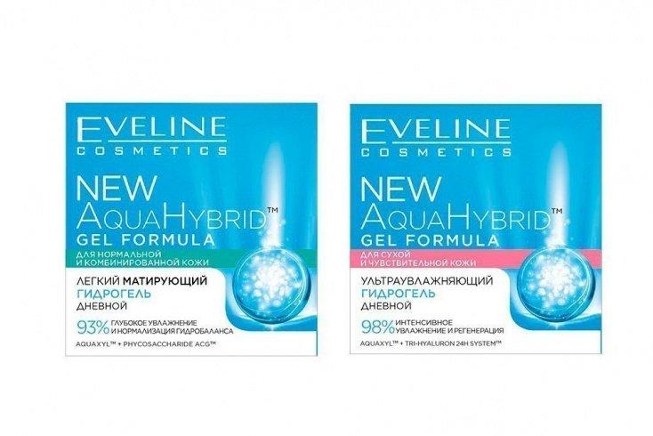 Увлажняющий дневной и ночной кремы New Aqua Hybrid Hydro от Eveline Cosmetics Источник: medaboutme.ru