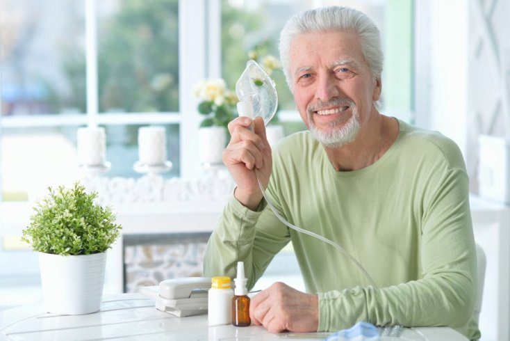 Ингалятор с витамином А
