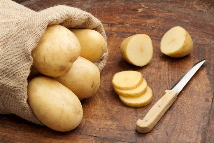 Картофель для светлой кожи