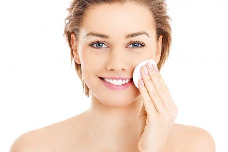 Предварительное очищение кожи