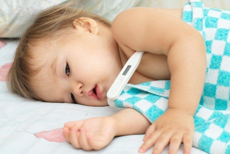 Высокая температура у малыша