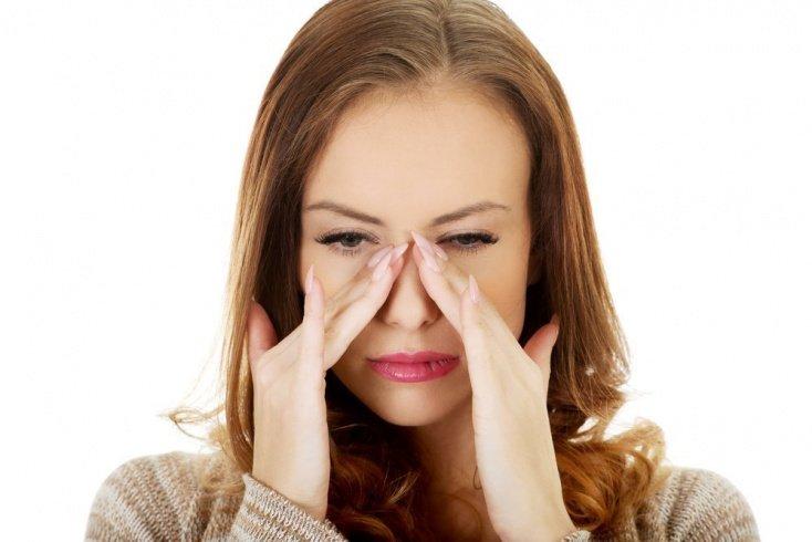 Основные симптомы гайморита