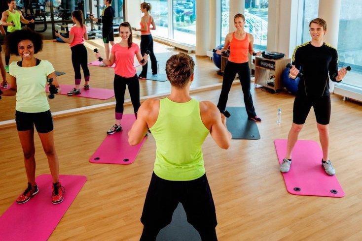 Спортзал и групповые тренировки