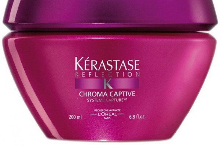 Маска для окрашенных волос Kerastase Reflection Masque Chroma Captive, 500 мл Источник: d1.static.media.condenast.ru