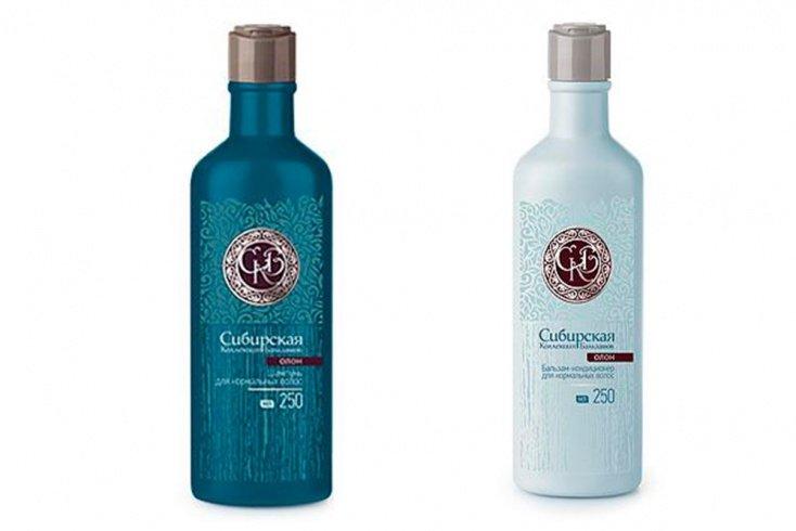 Шампунь и Бальзам-кондиционер для всех типов волос «Олон», Сибирское здоровье