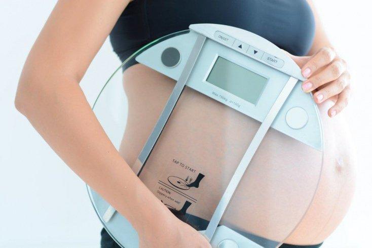 Прибавки в весе во время беременности
