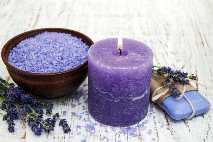 5. Свечи для арома-сеансов и ухода за кожей