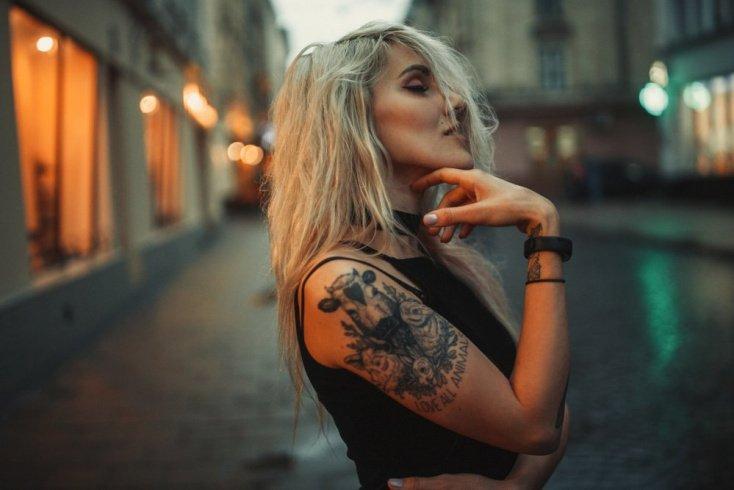 Красота во всем: татуировка