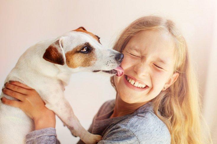 Возраст ребенка и собака