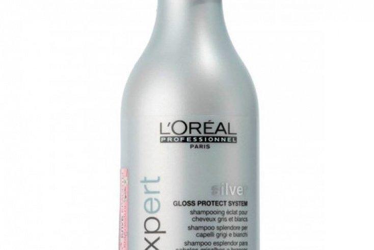 Шампунь оттеночный для седых волос L'Oreal Professionnel Serie Expert Silver Shampoo, 250 мл Источник: cubebeauty.ru