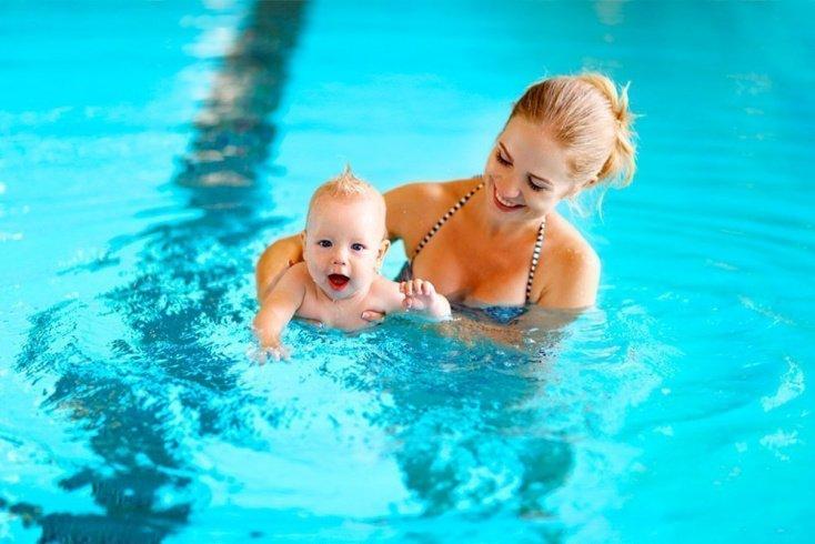 Развитие ребенка в бассейне
