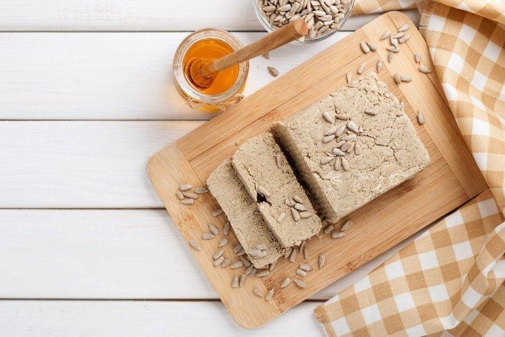 Кофейно-ореховая халва на десерт