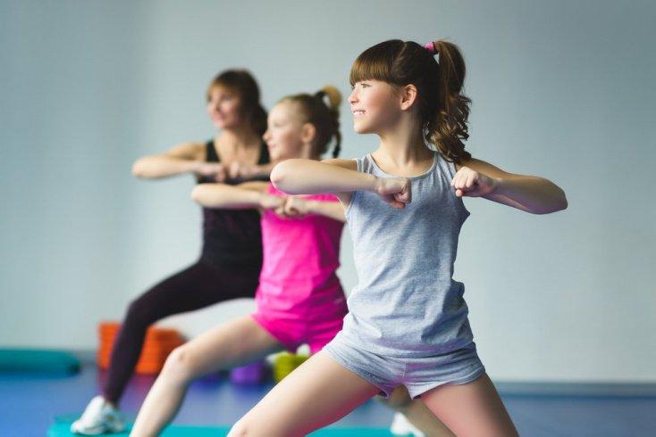 Что делают дети на уроках фитнеса