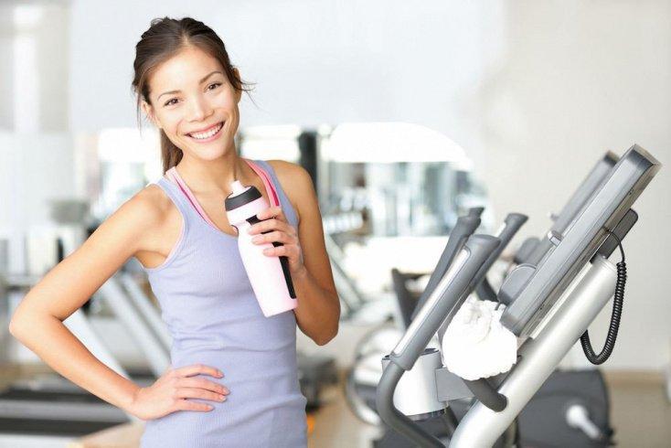 Состав рациона в период занятий фитнесом