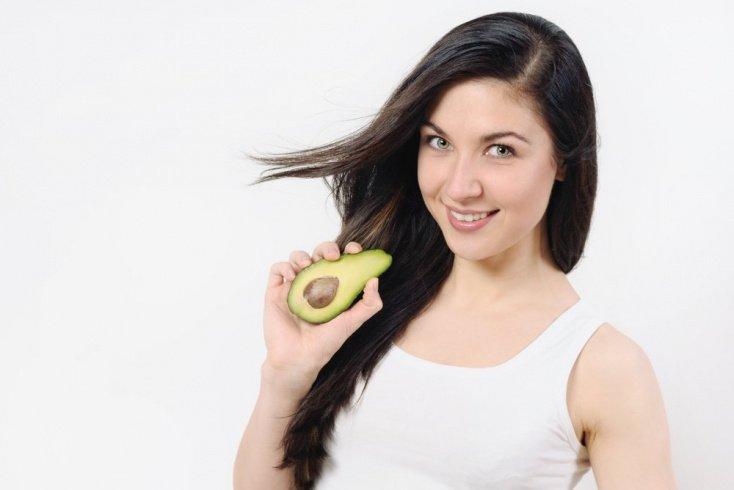 Авокадо в уходе за волосами