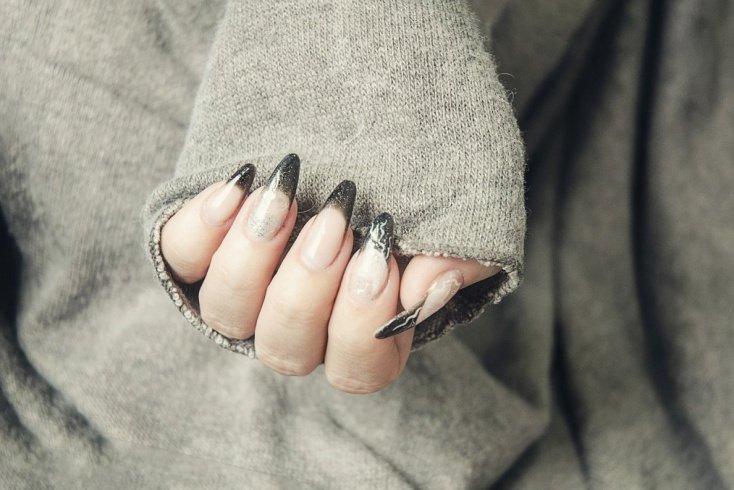 Неподходящая форма ногтей