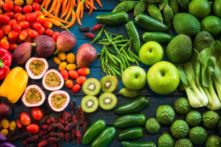 … мало овощей и фруктов