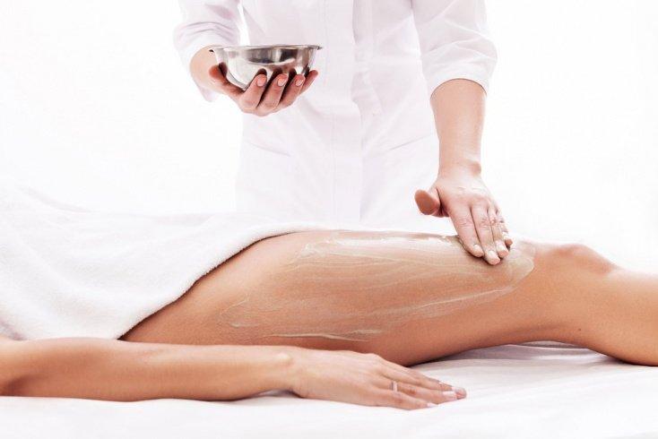 Холодные антицеллюлитные обертывания для кожи тела
