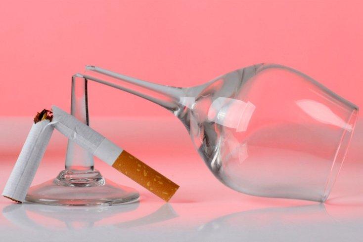7. Алкоголь и курение против сердца