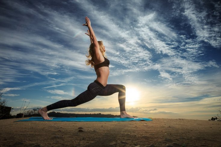 Популярные физические упражнения йоги для новичков