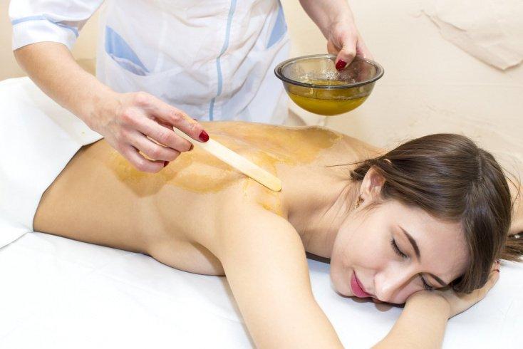 Средства для кожи: медовое обертывание