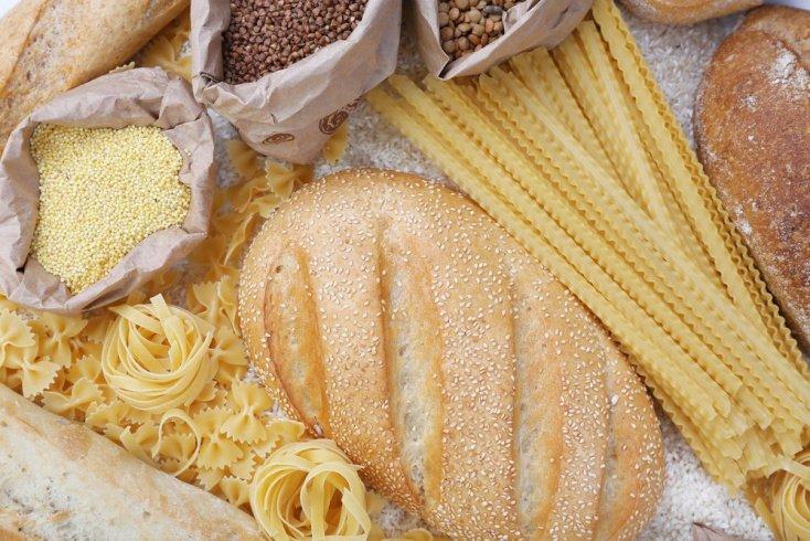 Макароны и хлеб из белой муки