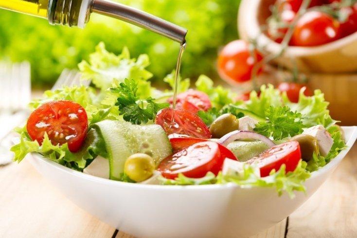 Рецепты блюд: полезные салаты