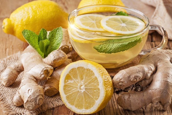 Имбирные напитки для похудения и здоровья