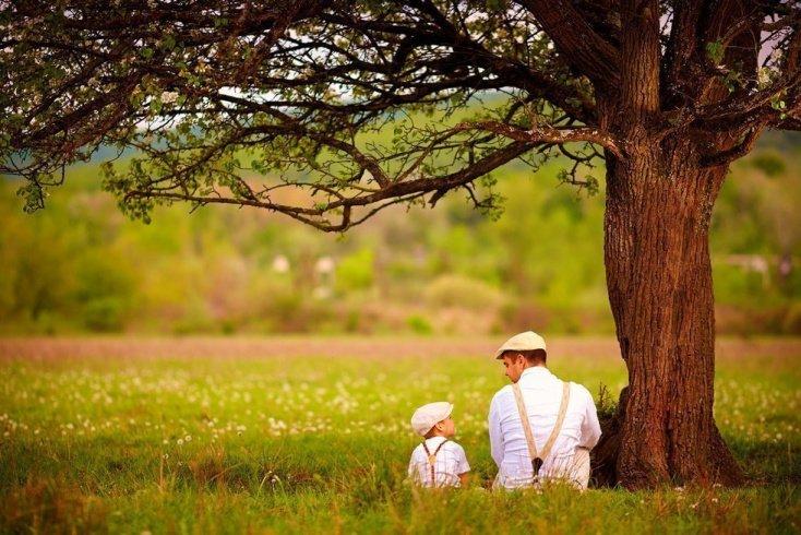 Счастливый отец — счастливые дети