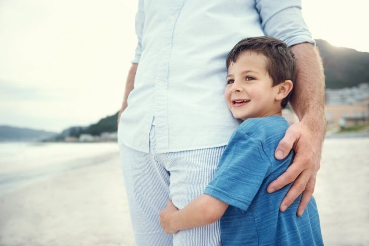Помогайте развитию ребенка, учите выражению чувств