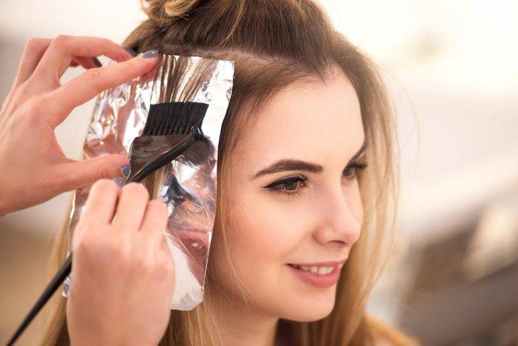 Окрашивание краской для волос