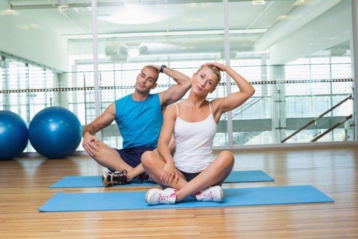 Программа упражнений для шейного отдела утром
