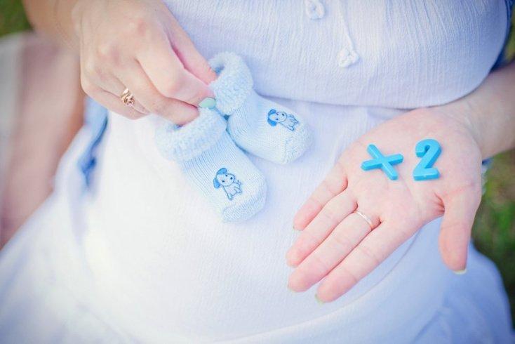 Мать близняшек и ее здоровье