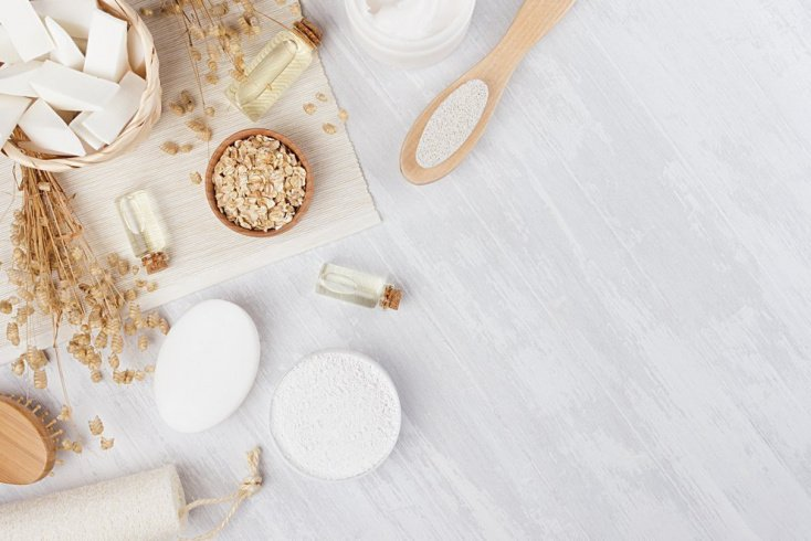 Маска-скраб для матирования жирной кожи
