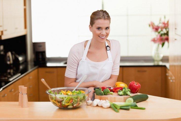 Секрет диеты для домохозяек