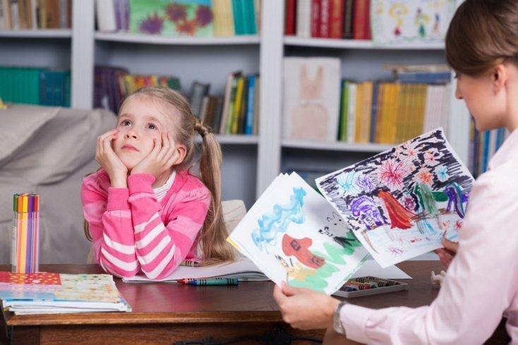 Рисунок ребенка и отношения с родителями
